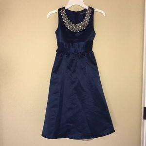 ROYAL BLUE FORMAL DRESS